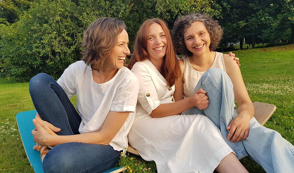 Nosotras: Sonia, Elena y Miriam